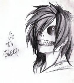 Drawn jeff the killer