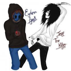 Eyeless Jack clipart jeff the killer