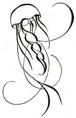 Drawn tattoo simple