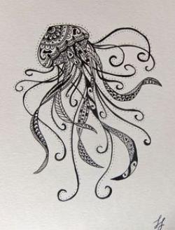 Drawn jellies patterned