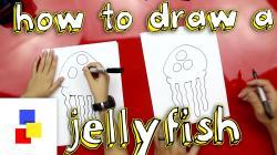 Drawn jellies spongebob