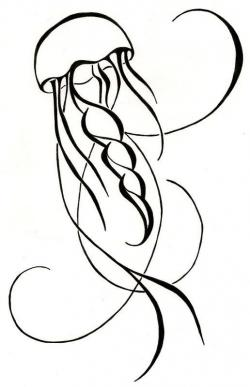 Drawn jellies easy