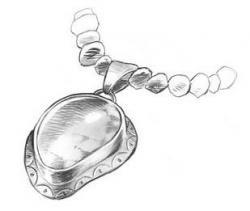 Drawn jewelry