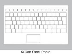 Keyboard clipart laptop
