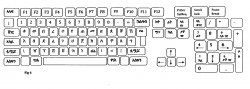 Drawn keyboard keybord