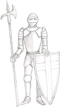 Drawn knight
