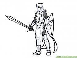 Drawn knight