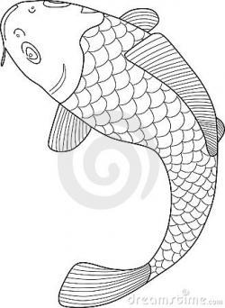 Koi Carp clipart fish scale