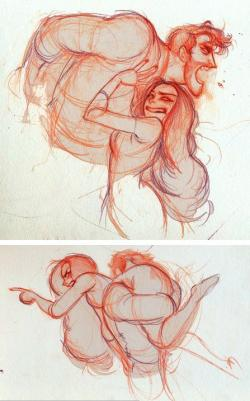 Drawn couple relationship