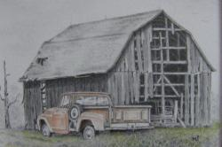 Rustic clipart old barn