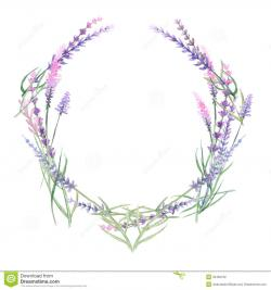 Circle clipart lavender