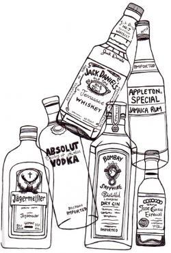 Drawn liquor