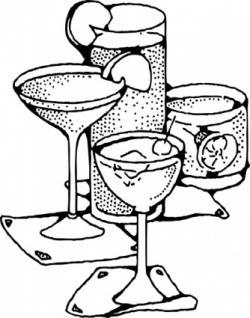 Drawn liquor art