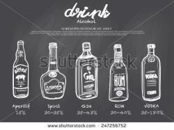 Drawn liquor free spirit