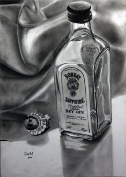 Drawn liquor shadow