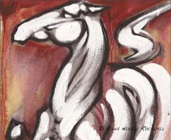 Drawn liquor spirit horse rearing