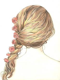 Drawn braid girly