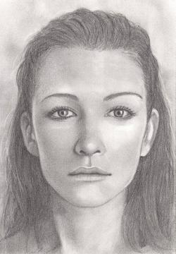 Drawn people portrait drawing