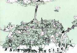 Drawn map san francisco