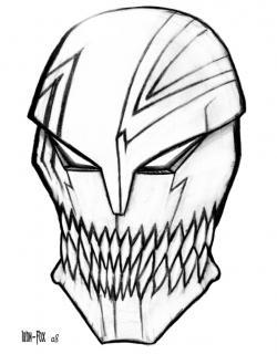 Drawn mask bleach