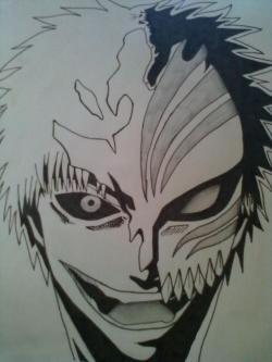 Drawn masks hollow