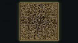 Drawn maze minecraft