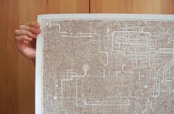 Drawn maze papa