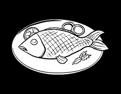 Drawn beef fried fish