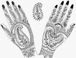 Drawn mehndi beginner