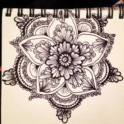 Drawn elower sharpie