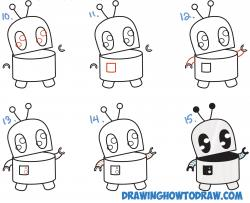 Drawn robot
