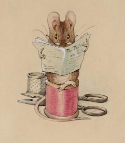 Drawn mice beatrix potter