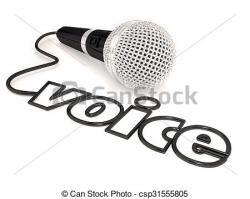 Microphone clipart cord illustration