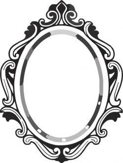 Queen clipart mirror