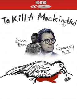 Drawn mockingbird dead