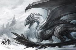 Drawn dragon epic