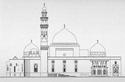 Drawn mosque