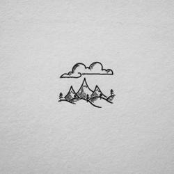 Drawn tattoo doodle