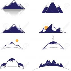 Alps clipart mountain sketch