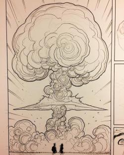 Drawn clouds epic