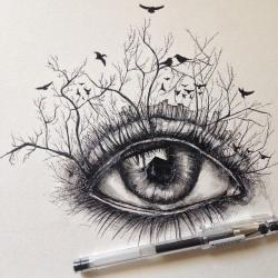 Drawn pen artist