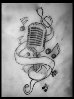 Drawn music creative