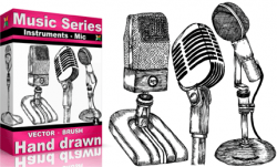 Drawn instrument microphone
