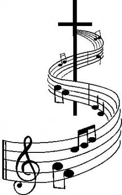 Music Notes clipart catholic