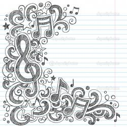 Drawn music back to school