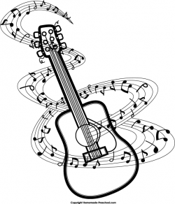 Musical clipart guitar