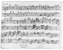 Drawn musician handwritten