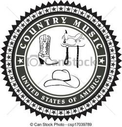 Music Notes clipart country music
