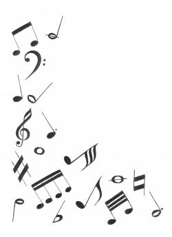 Drawn music music themed