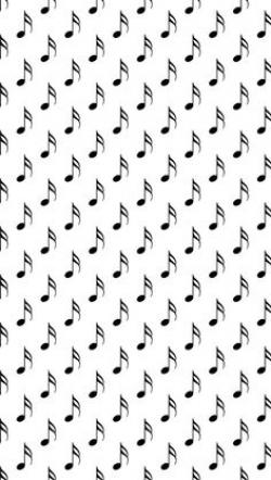 Drawn music notes twitter backgrounds